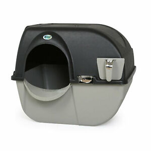 Omega Paw EL-RA20-1 Roll N Clean Self Separating Self Cleaning Litter Box, Large