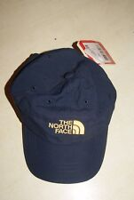 The North Face CASQUETTE THE ASPHALT bleu et jaune taille unique Junior