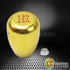 Gold 5 speed M10x1.5mm Manual MT Shift Knob Civic EF EG EK Integra DA DC2
