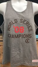 New W/Tags Mitchell & Ness Chicago Cubs Men's Tank Shirt Size L