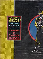 Dick Tracy-1990-Original Score-Movie Soundtrack-16 Tracks- Record LP