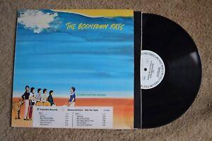 Boomtown Rats Tonic For The Troops Promo WLP Record lp original vinyl album
