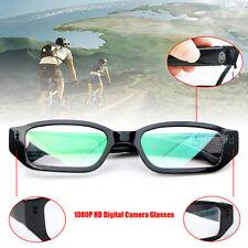 1080P HD Digital Video CCTV Cam Glasses Audio Recording DVR Eyewear Camcorder