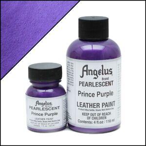 Angelus Acryl Lederfarbe Pearlescent Prince Lila (453) 29,5ml (20,17€/100ml)