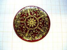 Grand médaillon 38mm décor berain émail gousset montre enamel pocket watch GR8