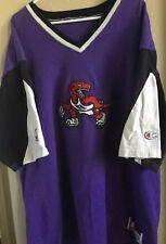 Men's Vintage Toronto Raptors CHAMPION Official Shooting Shirt; Size - XL