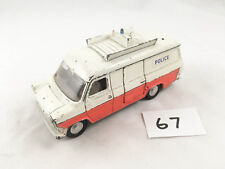 RARE VINTAGE DINKY # 287 POLICE FORD TRANSIT ACCIDENT UNIT DIECAST CAR PLAYWORN