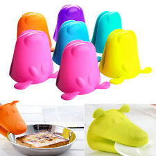 New Silicone Dog Heat-resistant Kitchen Oven Baking Tool Glove Pot Mitt Nice