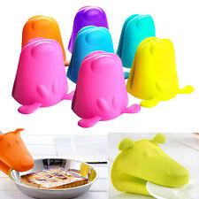 New Silicone Dog Heat-resistant Kitchen Oven Baking Tool Glove Pot Mitt Nice
