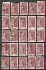 25 PENNSYLVANIA ACADEMY #1064 Used U.S.1955 Commemorative 3c Stamps