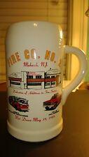 Vintage  Fire Engine Department mug 1989 MAHWAH,,New Jersey Co #2