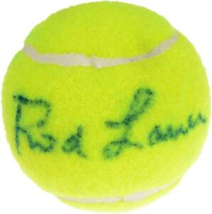 Rod Laver Signed Wilson Tennis Ball - Signed in Green Ink - Fanatics