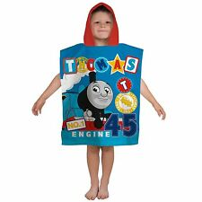 Boys Telletubbies Play Time Summer Swimming Beach Hooded Towel Poncho