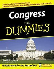 Congress for Dummies by David Silverberg (2002, Paperback)