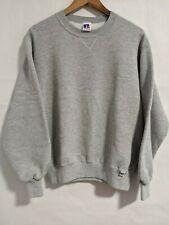 Vtg 70s Russell Athletic Sweatshirt Mens Sz XL Gray Blank Tri-Blend Crew Neck