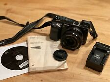 Sony Alpha NEX-6 16.1MP Digital Camera - Black ( w/16-50mm OSS Lens & Soft Case)