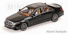 Minichamps 2015 Mercedes Benz Brabus 850 S63 S-Class Black 1:43 New Item!