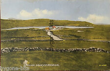 Sessian Lake Co Donegal Postcard Ireland Irish