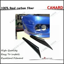 CARBON FIBER 2 PCS ARS STYLE CANARD (FOR STOCK BUMPER) FOR S15