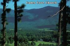Church, Cades Cove, Great Smoky Mountains National Park, Tennessee --- Postcard