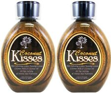 (LOT 2) Ed Hardy/Tanovations COCONUT KISSES Tanning Bed Lotion - 13.5 Oz (ea)
