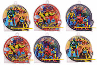 6 Super Hero Pinball Games - Pinata Toy Loot/Party Bag Fillers Wedding/Kids