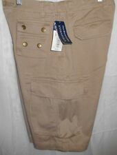 NWT Polo Ralph Lauren 67 Chino Boys/Youth SZ 16 Tan/Brown (7 POCKET) Shorts NEW