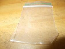 100 xGrip Seal Bags Self Resealable clear Grip Poly Plastic 40 x 50