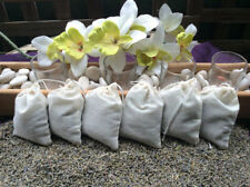 6 Fragrant Lavender muslin Sachet Bags Bridal Party favor Moth
