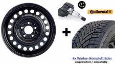 4x Winterräder für neuen Hyundai i30 (PDE) 195/65 R15 Conti Reifen inkl. RDKS!!!