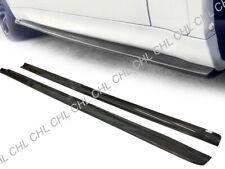 3D Style Carbon Fiber Side Skirt Lip For 2015-2018 BMW F15 X5 & F16 X6 M-Sport