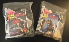 Lowe's Build & Grow-Captain America & Black Widow - 2 Wood Kits w/Stickers! (A1)