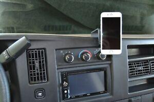 A-Tach # 50127 fits Chevrolet Express Van / GMC Savana Van Phone Mount 2008 -