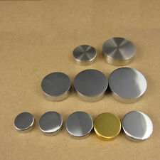 Screw Caps and Covers Stainless Steel 3 Finishing Matt, Shiny & Golden