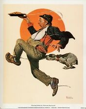 Norman Rockwell Saturday Evening Post Fleeing Hobo