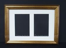 CLASSIC GOLD A4 MULTI PICTURE AND PHOTO FRAME