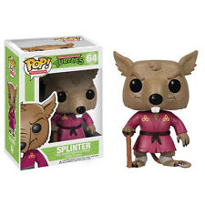 FUNKO POP TELEVISION TMNT Teenage Mutant Ninja Turtles SPLINTER #64  In Stock