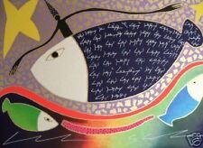 Giancarlo Montuschi serigrafia 100x70