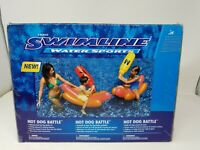 Swimline Water Sports  Hotdog Battle Inflatables
