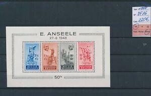 LO04580 Belgium 1948 E. Anseele monument good sheet MNH cv 220 EUR