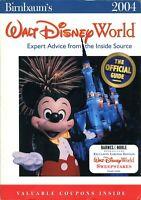 2004 Birnbaum's Official Guide To Walt Disney World Stitch's Great Escape Opens