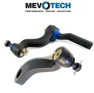 For Chevy Blazer GMC C1500 Suburban Pair Set Front Idler & Pitman Arms Mevotech
