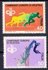 Italien 1453-1454 , postfrisch / ** / Sport , Leichtathletik WM Rom