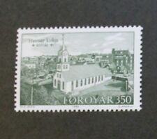 Bicentenary of Torshavn church stamps, 1989, Faroe Islands, SG ref: 174-176, MNH