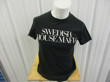 VINTAGE SWEDISH HOUSE MAFIA 2013 ONE LAST TOUR LARGE BLACK SHIRT W/ DATES