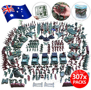 307pcs Military Model Playset Toy Soldiers Army Men Figures & Accessories Toys