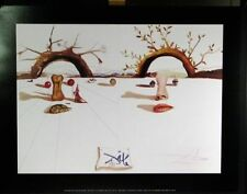 Dali Winter Summer Plate Signed Poster