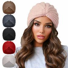 Turban Femme Bonnet Rétro Chapeau Tricot Jersey Toocool YF-80026