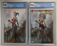 Harley Quinn Villain of the year 1 CGC 9.8/9.6 Scorpion Comics/Con. Variants