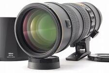 [MINT] Nikon Zoom-NIKKOR 70-200mm f/2.8 SWM AF-S VR IF ED G Lens F/S JAPAN #0995